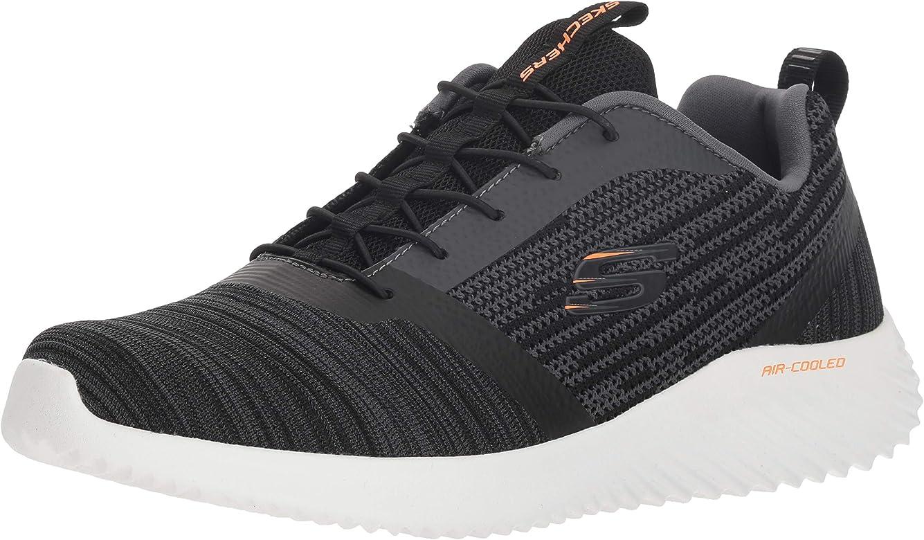 Skechers - Zapatillas Bounder para hombre, Negro (Negro), 38.5 EU: Amazon.es: Zapatos y complementos