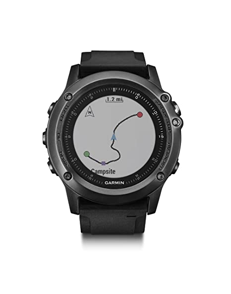 Amazon.com: Reloj de mano Garmin Fenix 3 HR, color gris ...
