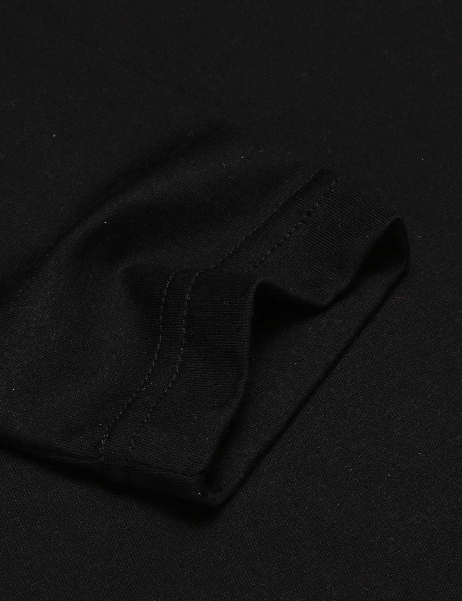 COOFANDY Mens Print Tees Dragon Graphic Long Sleeves Fashion T-Shirts Black L by COOFANDY (Image #6)