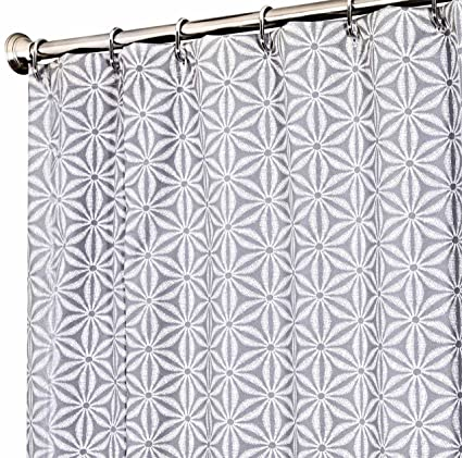 Amazon Com Extra Long Shower Curtain 72 X 96 Inch Shower Curtains