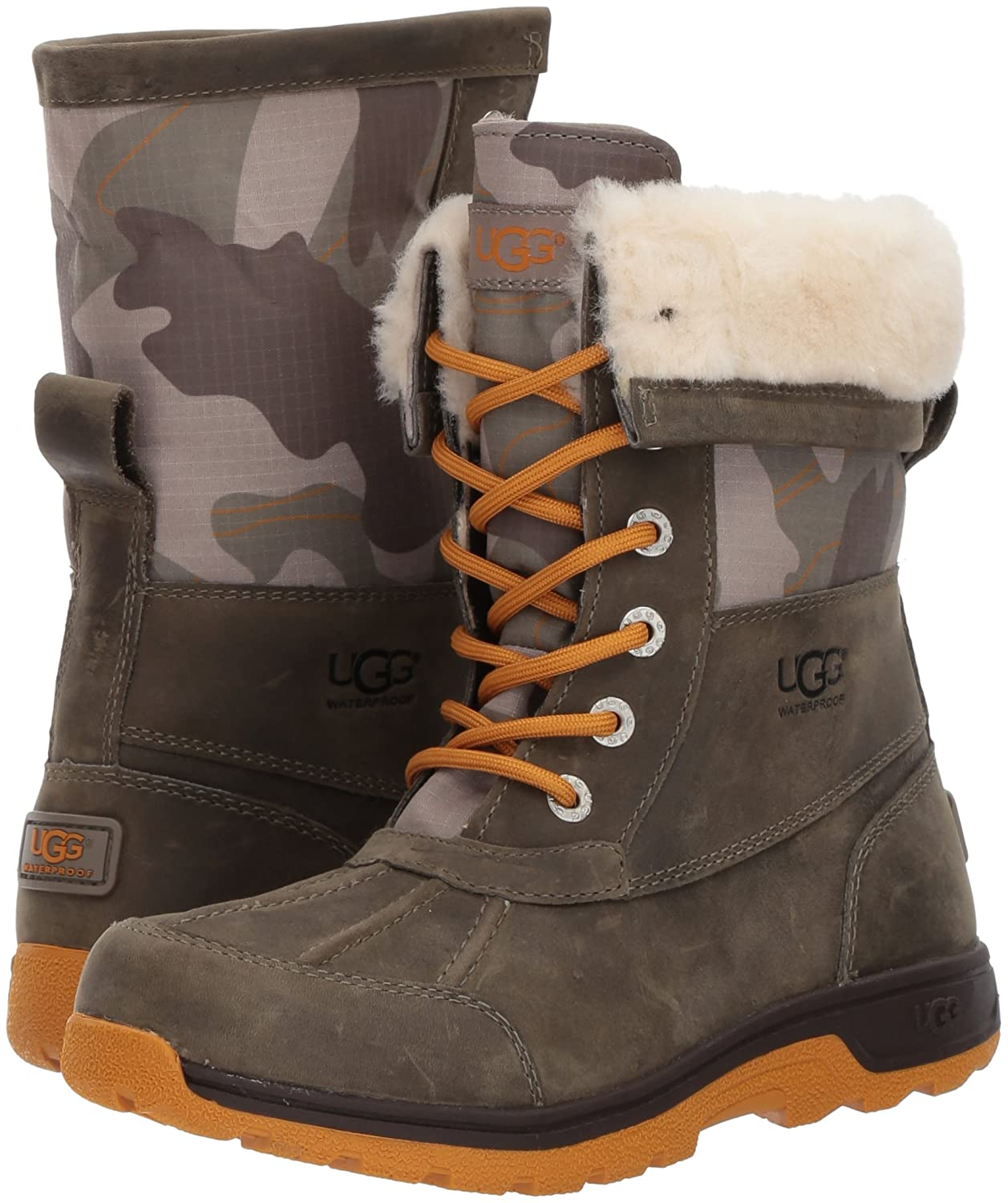 aa91079f637 UGG Kids K Butte II Camo Lace-up Boot
