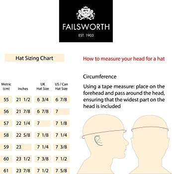 Failsworth Hats - Gorra Plana de Tweed Harris - 55-5090 Grey/Green ...