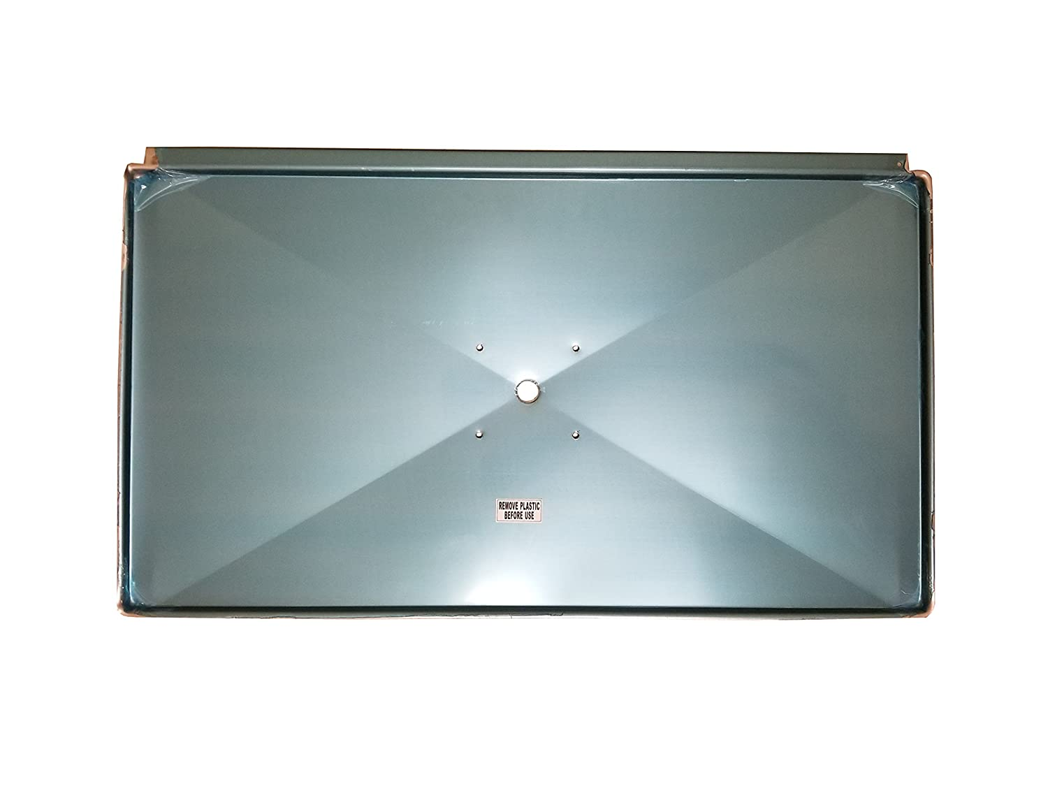 """Barbeques Galore G' Frame 27"""" Drip Tray for Turbo Grills - with Holes"""