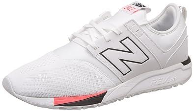 New Balance MRL 247 D WR White, White Black, 12.5 UK