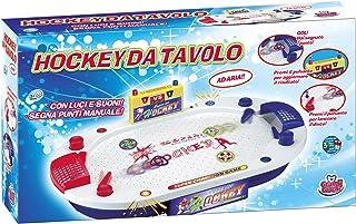 Grandi Giochi gg51703–Hockey de table Type Pinball [Import Italien]