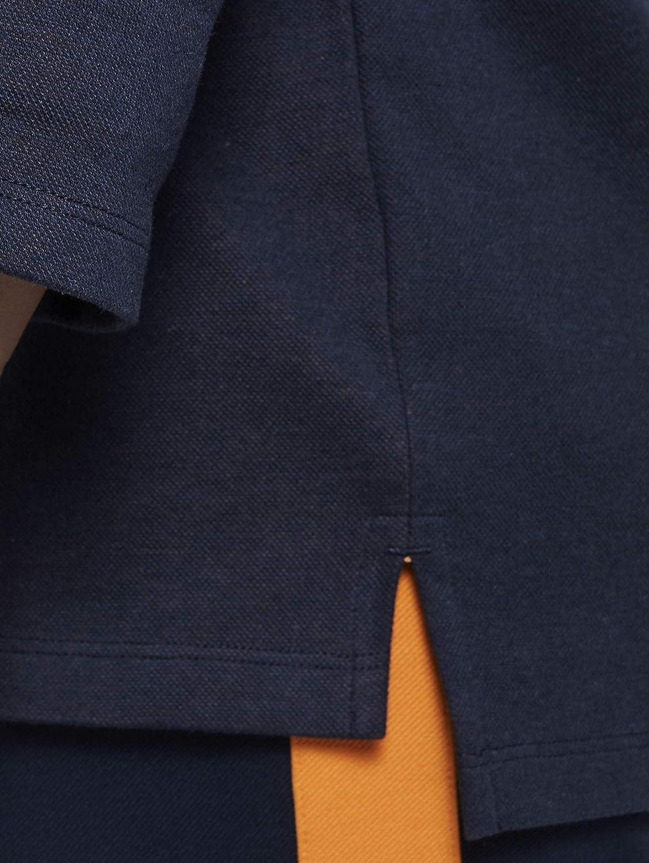 TOM TAILOR MY TRUE ME Damen Strick & Sweatshirts Zweilagiges Sweatshirt Real Navy Blue