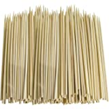 200 x SKEWERS IN BAMBOO (CARDED) Size 250mm