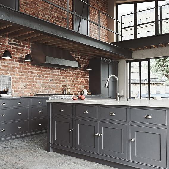 ... fregadero de cocina con Aylesbury rejilla de acero de grifo, inoxidable, colador, colador y dispensador de jabón: Amazon.es: Bricolaje y herramientas