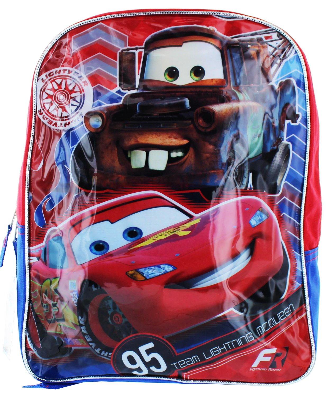 RED//Blue Fast Forward Children/'s Apparel R2CY09ZA Disney Boys Cars Backpack