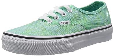6aec0fba058 Vans Unisex Adults  U Authentic (Sparkle) Mint Slippers