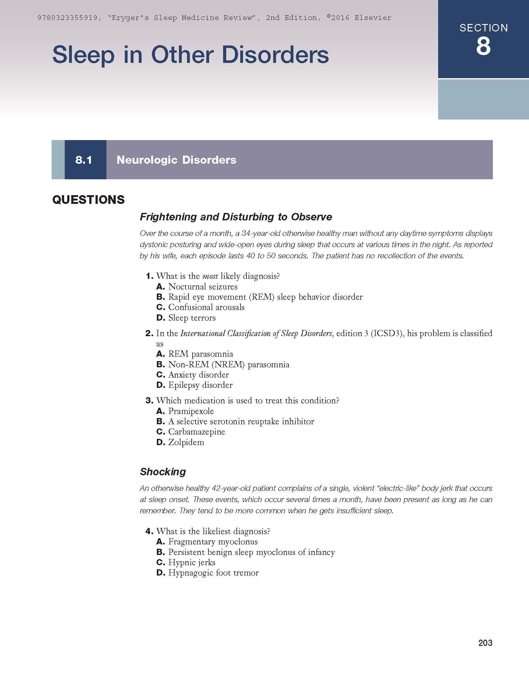 Amazon com: Elsevier Medicine: Sleep Medicine
