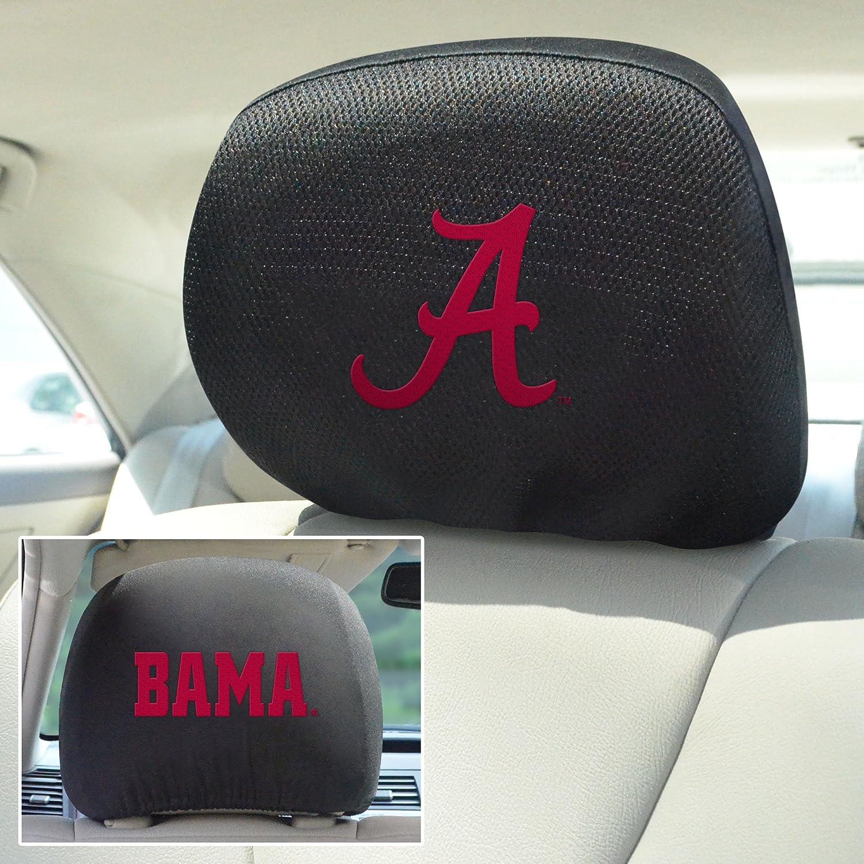 FANMATS NCAA University of Alabama Crimson Tide Polyester Head Rest Cover