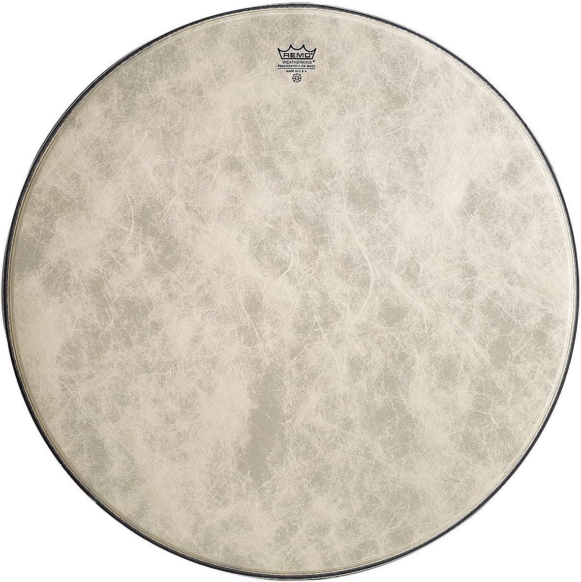 Remo FA1524-00 24-Inch Fiberskyn 3 Ambassador Bass Drum Head