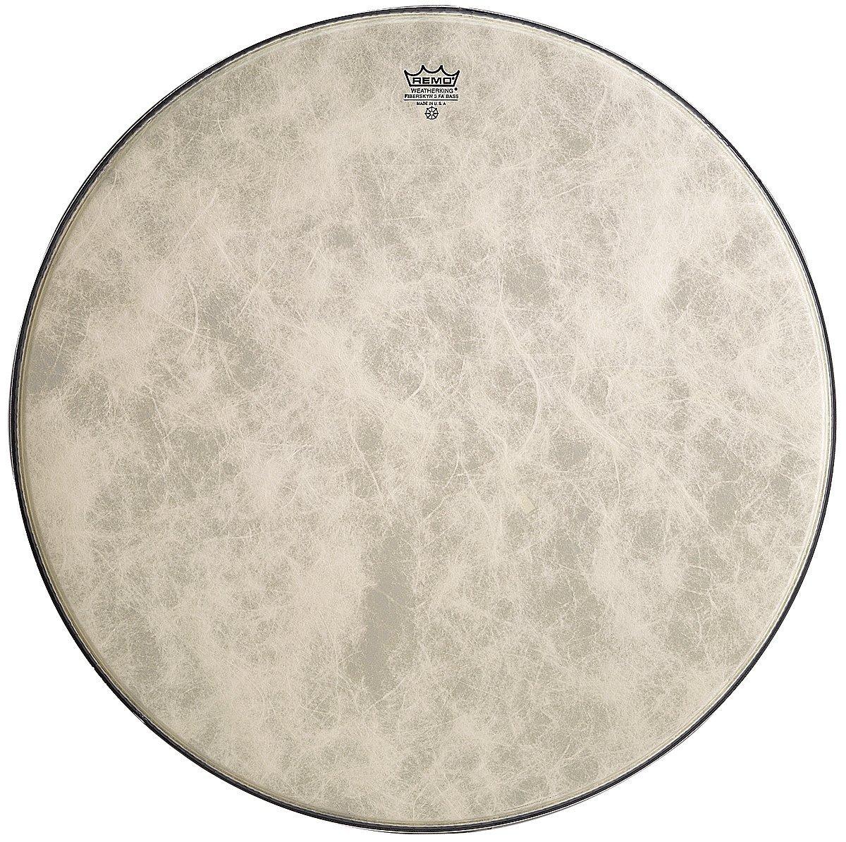 Remo FA1520-00 20-Inch Fiberskyn 3 Ambassador Bass Drum Head