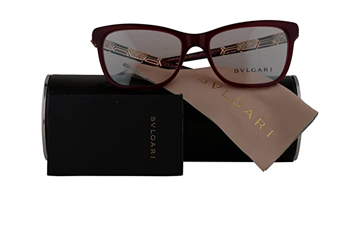 9ed88fad0ab Image Unavailable. Image not available for. Colour  Bvlgari Authentic  Eyeglasses ...