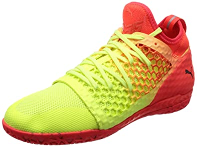 Puma Men s 365 Ignite Netfit Ct Yellow Football Boots-12 UK India ... 2c75c674a51