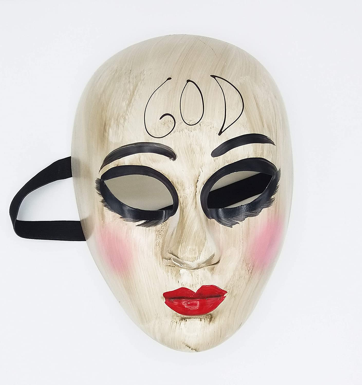 Máscara de la Purga God para Disfraz de Halloween Terrorífico ...