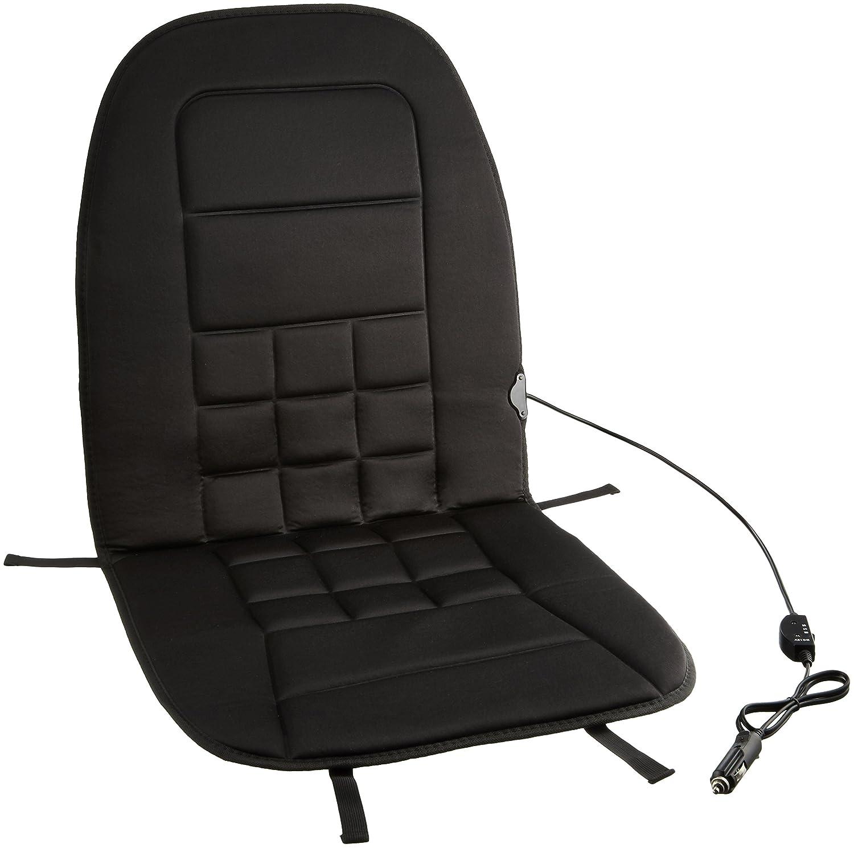 Basics Beheizbare Sitzauflage, 12 Volt, 3-stufiger Temperaturregler, Polyester (neuestes Modell) HM200101B