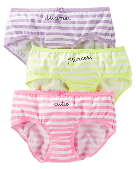 3910a21d168c Carter's Girl's 3-Pack Stretch Cotton Panties (2, Dreamer (32118014) /