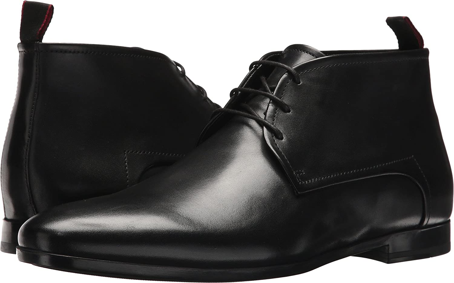 BOSS Hugo Boss Mens Pariss Leather Lace-Up Derby by Hugo