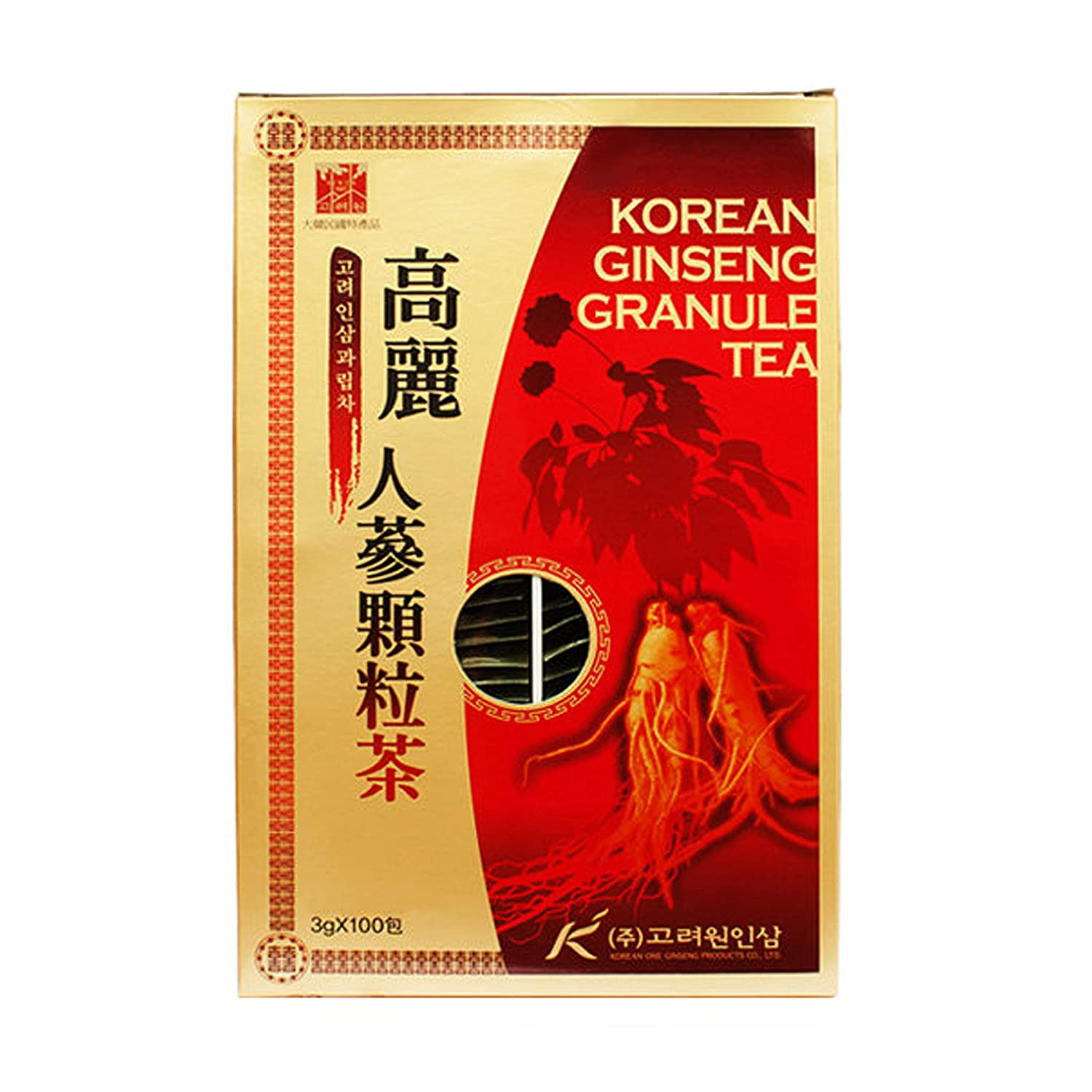 [HEALTH TEA] Korea Food Korean Ginseng Granule Tea 3g X 100T 인삼차 인삼