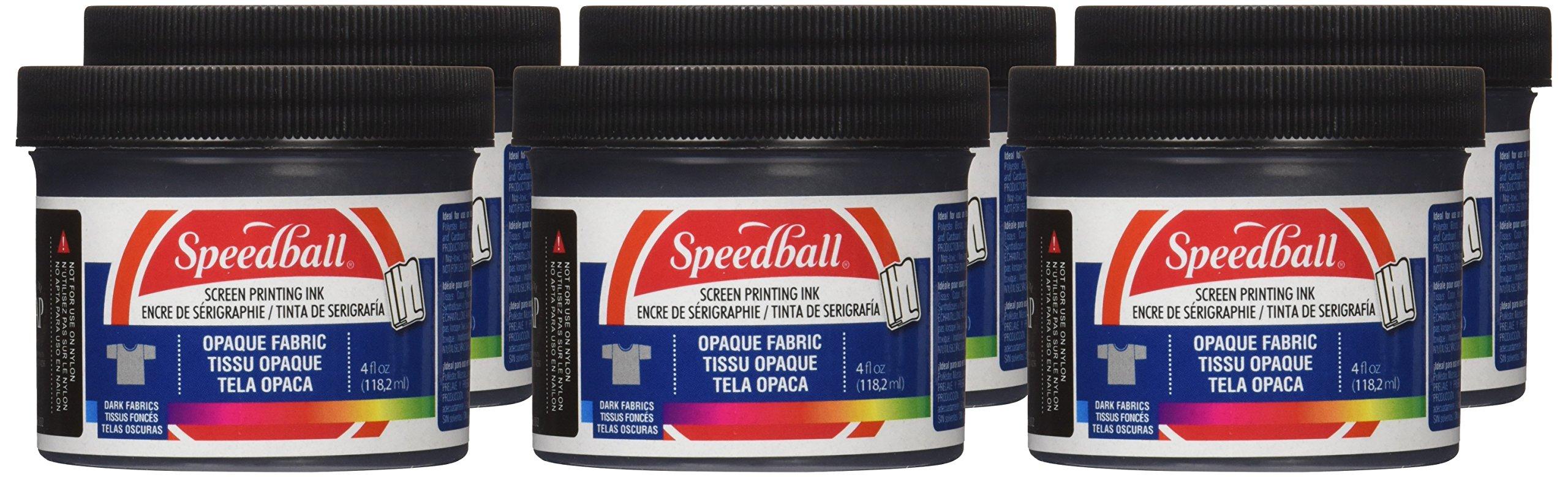 Speedball Opaque Fabric Screen Printing Ink Starter Set