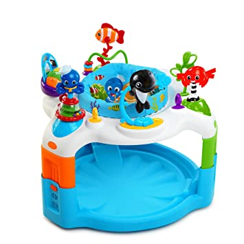 41d7f3694499 Amazon.com   Baby Einstein Rhythm of The Reef Activity Saucer   Baby