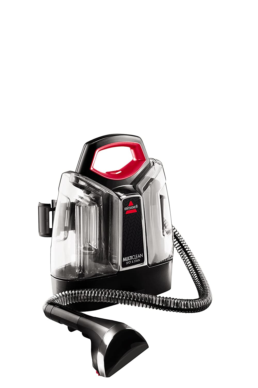 Bissell 4720M Spot & Stain Limpiador de Manchas, 300 W, 2.5 litros, 74 Decibeles, Plastic, Negro, Rojo: Amazon.es: Hogar