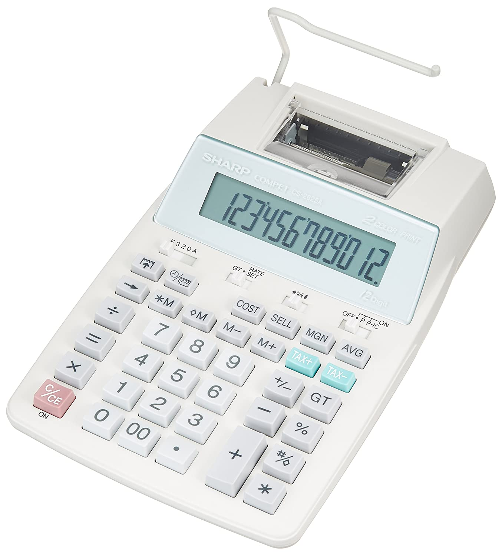 シャープ プリンタ電卓 CS-2625A