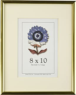 8 x 10 metal i picture frame gold