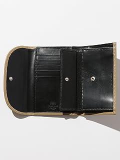 S7660 3 Fold Purse 1446-499-1389: Beige / Black