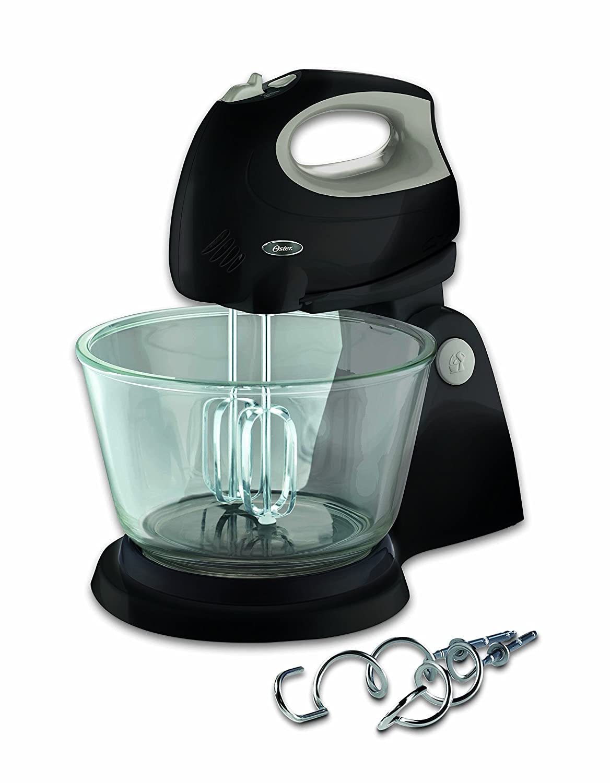Buy Oster 2611 250-Watt Stand Mixer (Black/Grey) Online at Low ...