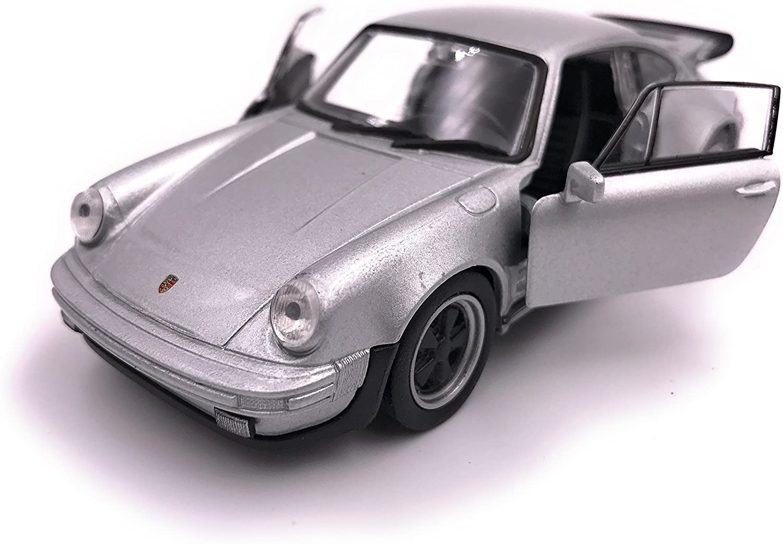 Producto de licencia de automóvil modelo Welly Porsche 911 Turbo 930 1975 1: 34-1: 39 plata