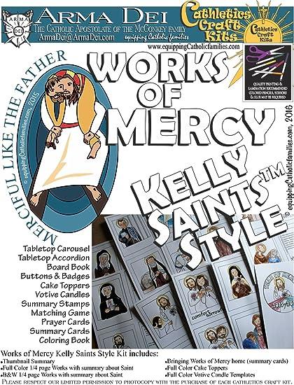 amazon com works of mercy craft kit