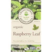 Traditional Medicinals Organic Raspberry Leaf Tea, 20 Tea Bags, 35g