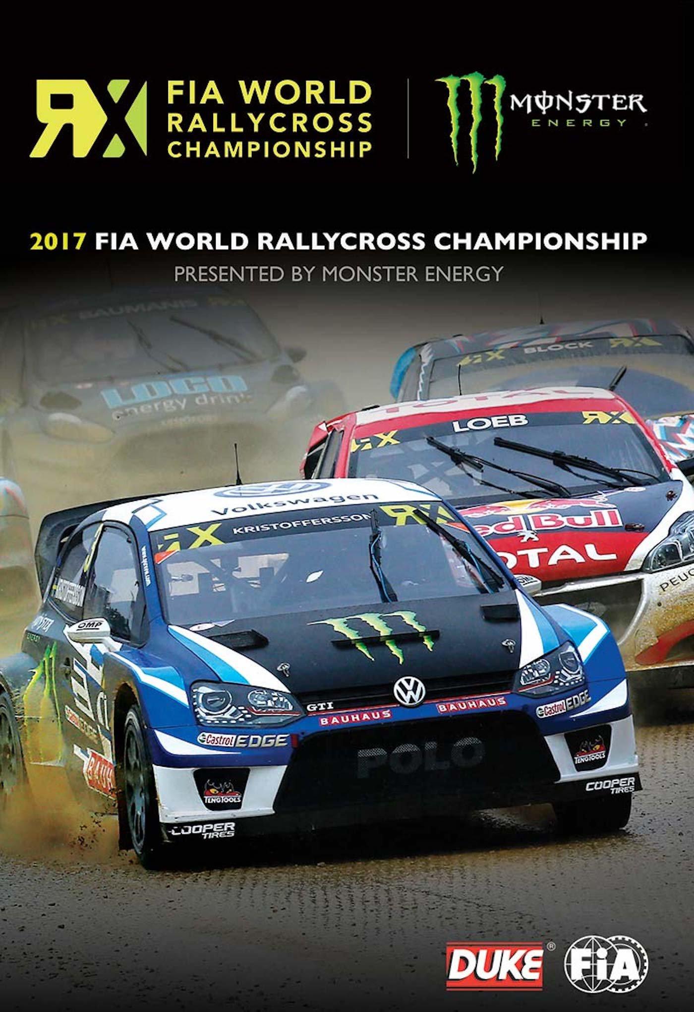 DVD : Fia World Rallycross 2017 Review (DVD)