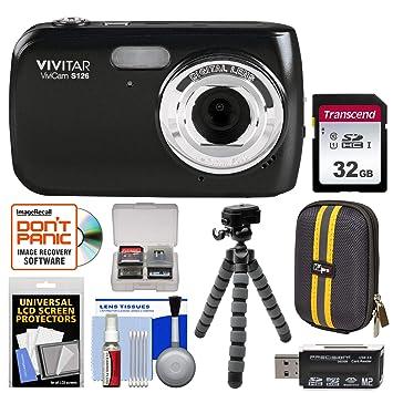 Amazon.com: Vivitar ViviCam S126 - Cámara digital con ...