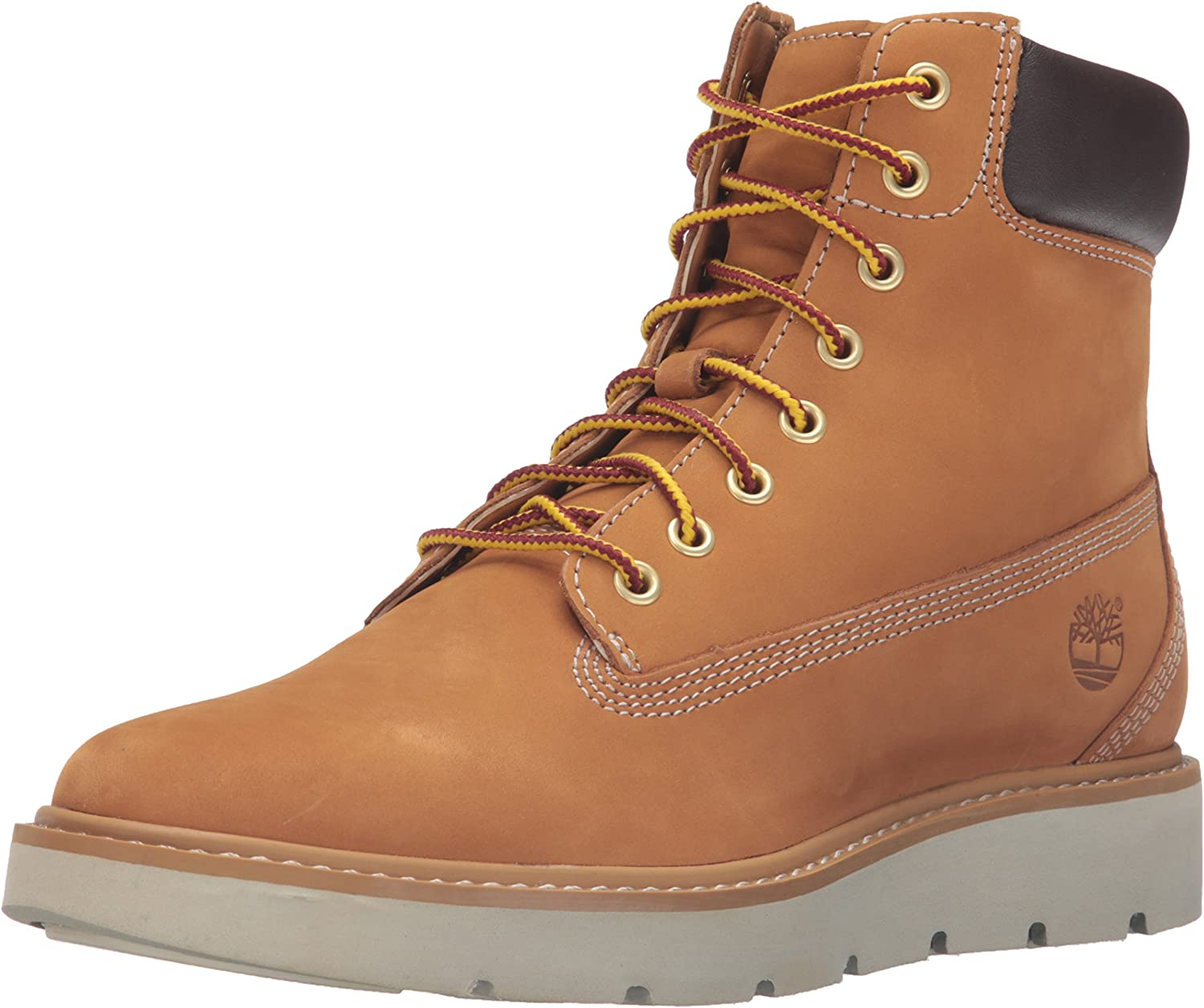 Timberland Women's Kenniston 6 inch Lace Up Boot, Wheat