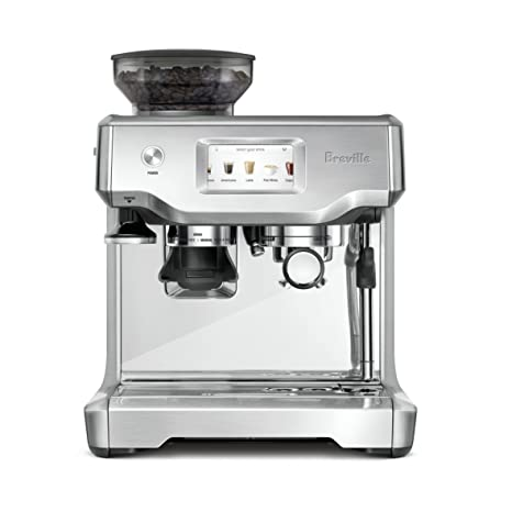 Breville BES880BSS Barista Touch Espresso Maker, Stainless Steel