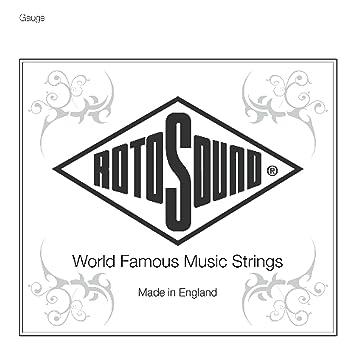 Rotosound - np011 cuerda para guitarra eléctrica tirante .011: Amazon.es: Instrumentos musicales