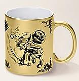 Mug The legend of Zelda Majora's mask Link VS Skull Kid édition doré - Kanto Factory -