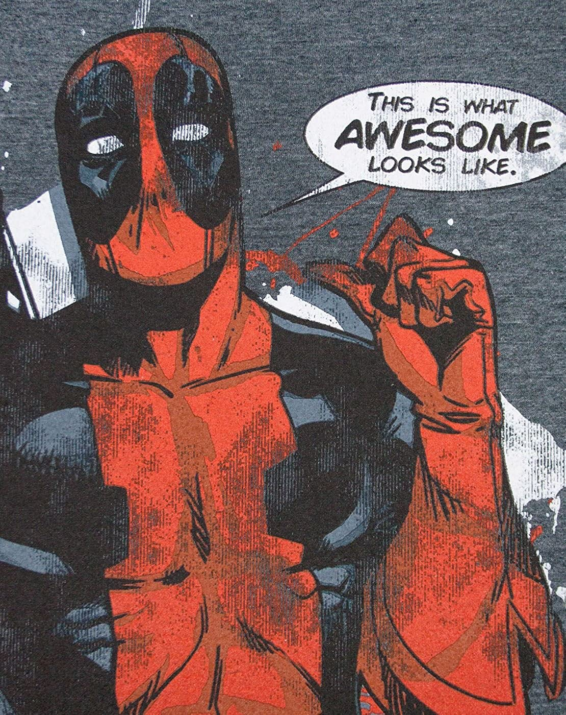 Deadpool Marvel This is What Awesome Looks Like Mens T-Shirt