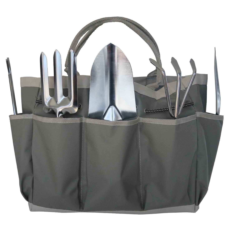 Frostfire Kit d'outils 6 piè ces essentiels pour jardin avec sac de rangement