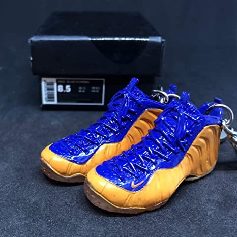 official photos 149e4 b82ab Image Unavailable. Image not available for. Color  Pair Air Foamposite One  Pro New York Orange Blue ...