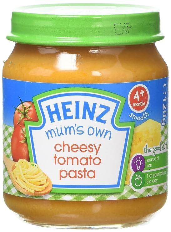 Heinz Mums Own Cheesy Tomato Pasta Jar 120 G