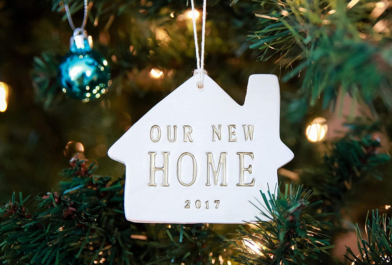 Gift Boxed and Ready to Give Our New Home 2019 Christmas Ornament