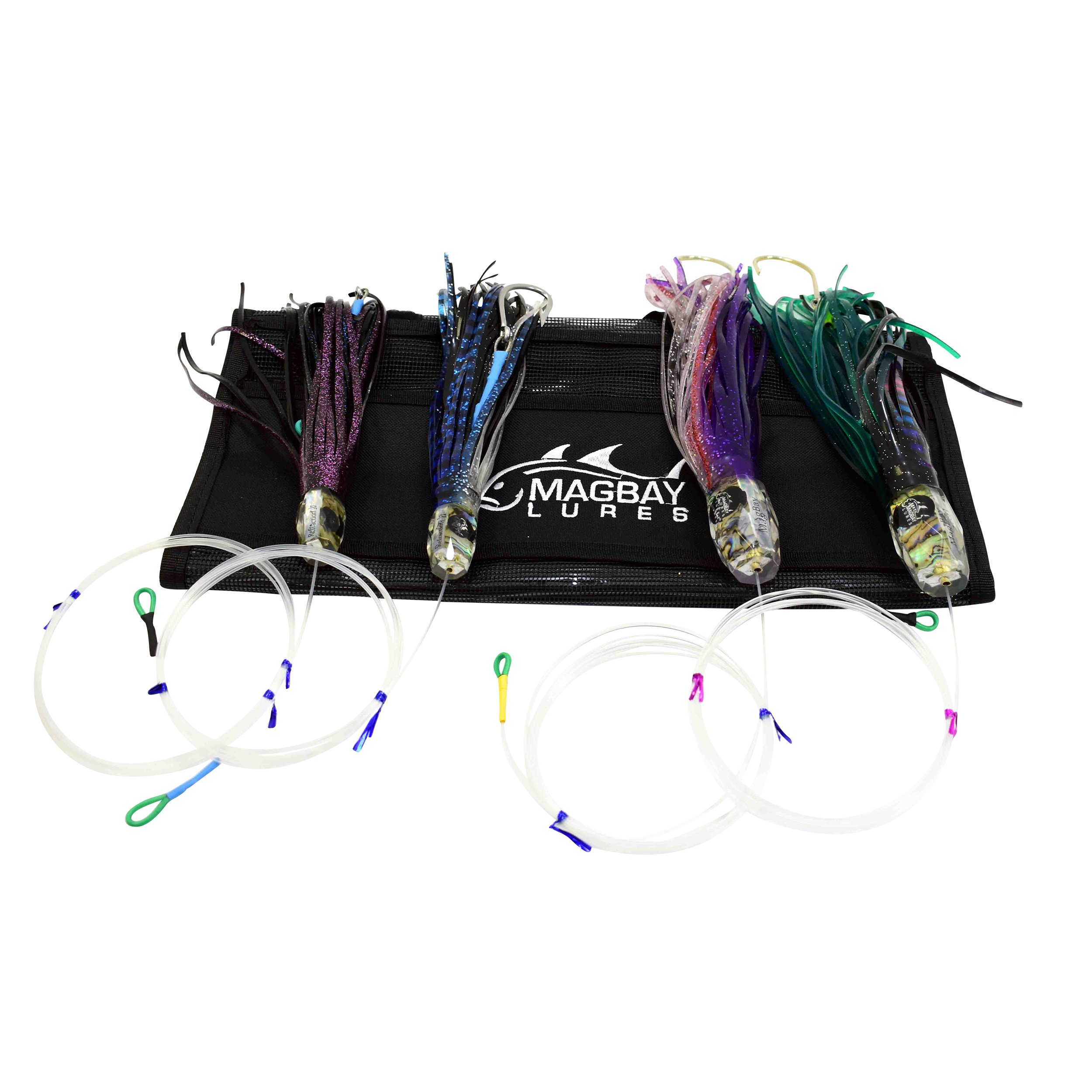 MagBay Refraction Lure Pack - Marlin Mahi Tuna Sailfish - Replaces Black Bart by MagBay Lures, Inc.