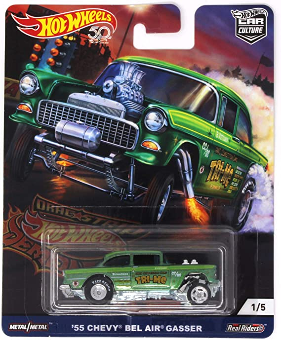 Hot wheels 1//64 Decals /'55 Chevy Gasser AMERICAN R@CING 075