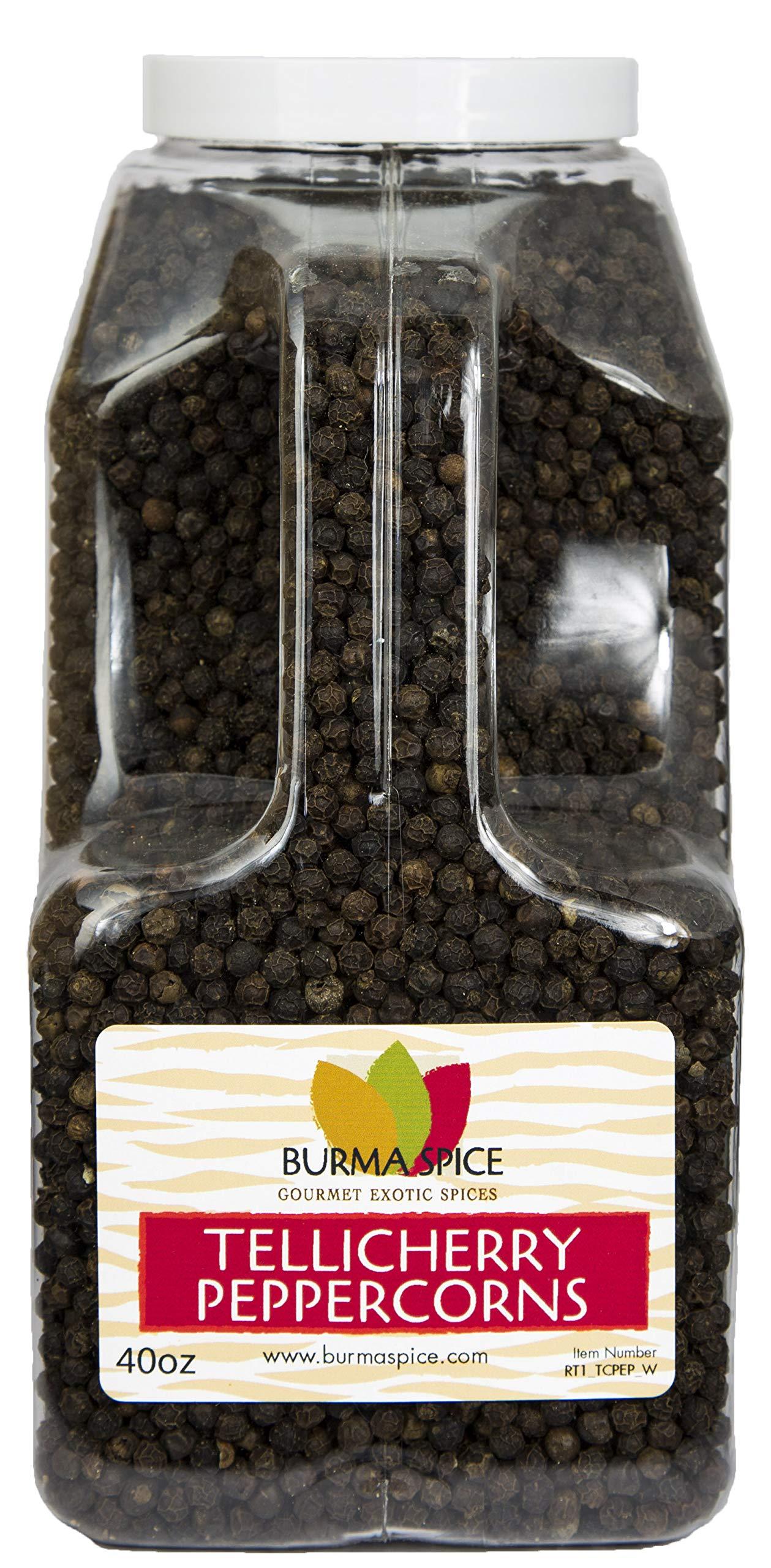 Tellicherry Black Peppercorn, Whole : Kosher Certified (40oz.)