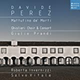Perez:Mattutino Dei Morti-Musica Sacra